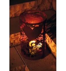 """Windlicht """"leuchtende Herzen"""" Höhe 40 cm, Ø 24 cm"""
