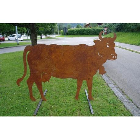Kuh lebensgroß 140 x 200 cm