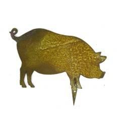 Bauernhof Minitier Schwein zum Stecken