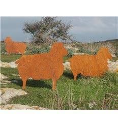 Schaf groß zum Stecken 56 x 70 cm
