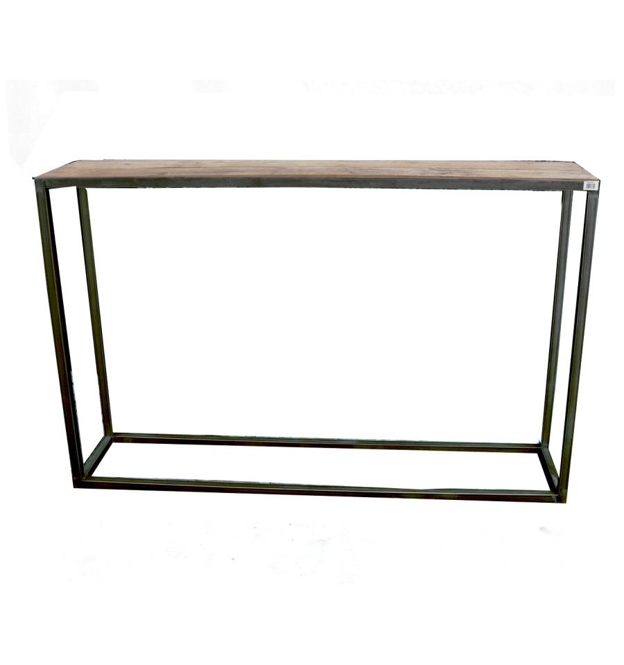 Tavolo da giardino tavolo in metallo dekotisch Gartendeko giardino tavolo mobili da giardino in metallo