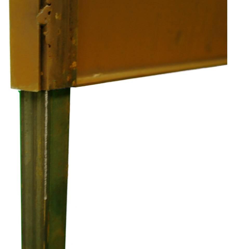 2er set 4kantrohr 100cm zum einbetonieren f r - Sichtschutzwande aus stein ...