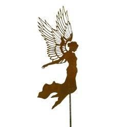 Engel fliegend Aurelie H 55vm, Stab ca 100cm