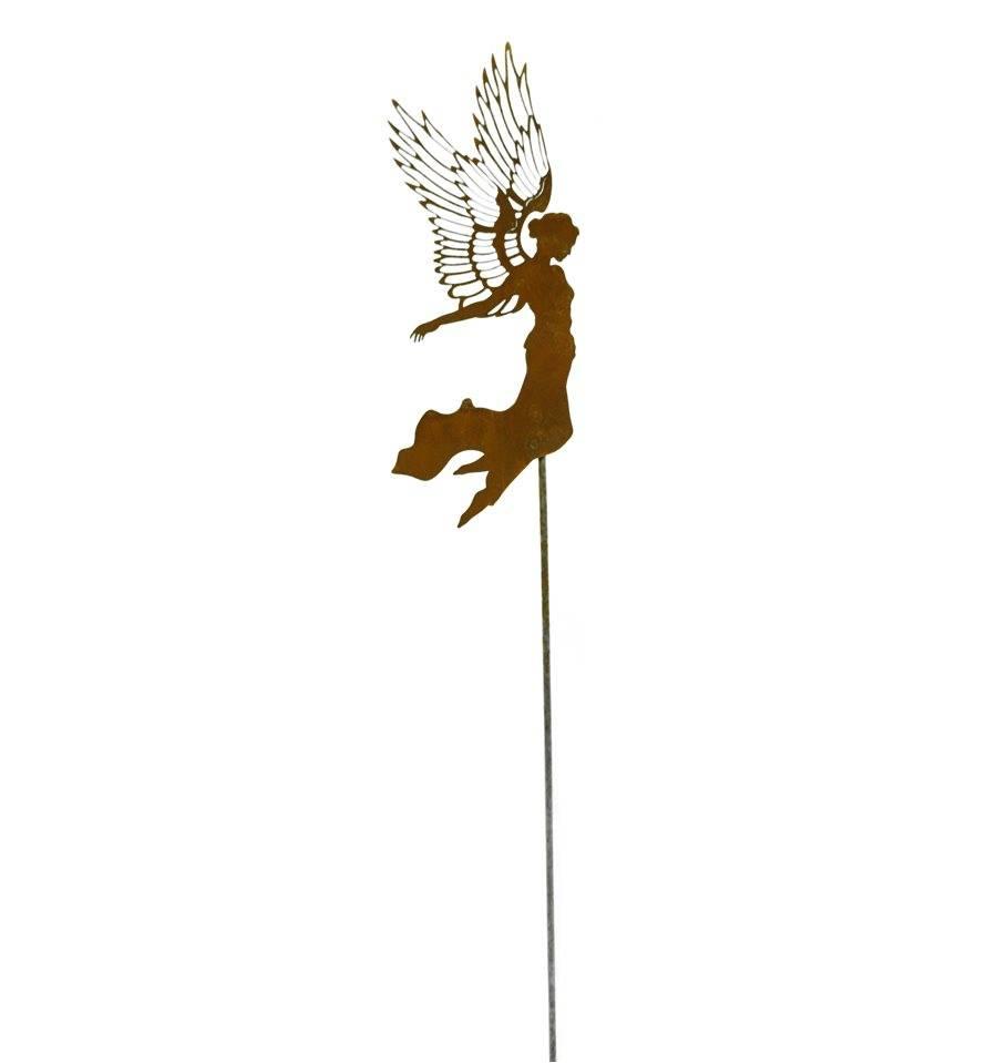 Engel fliegend aurelie h 35vm stab ca 60cm for Wohndesign sera