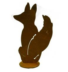 kleiner Fuchs sitzend Höhe 16 cm