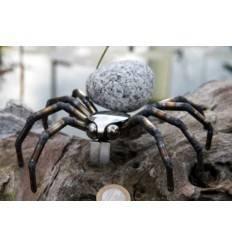 Spinne mit Granit-Stein klein 15 x 15 cm