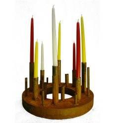 """Kerzenleuchter Ring Ø 60 cm """"So und So"""""""