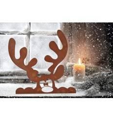 edelrost weihnachtsdeko rostige deko f r weihnachten. Black Bedroom Furniture Sets. Home Design Ideas