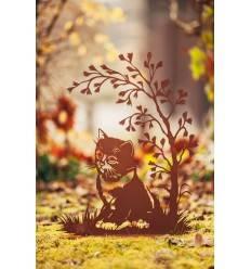 Katzenleben auf Platte