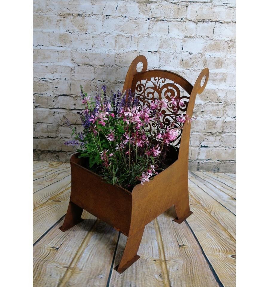 kreative Gefäße, Blumentöpfe und mehr aus Edelrost. - Metallmichl