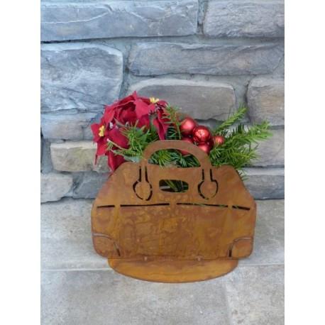 Handtasche zum Bepflanzen - moderne Gartendeko