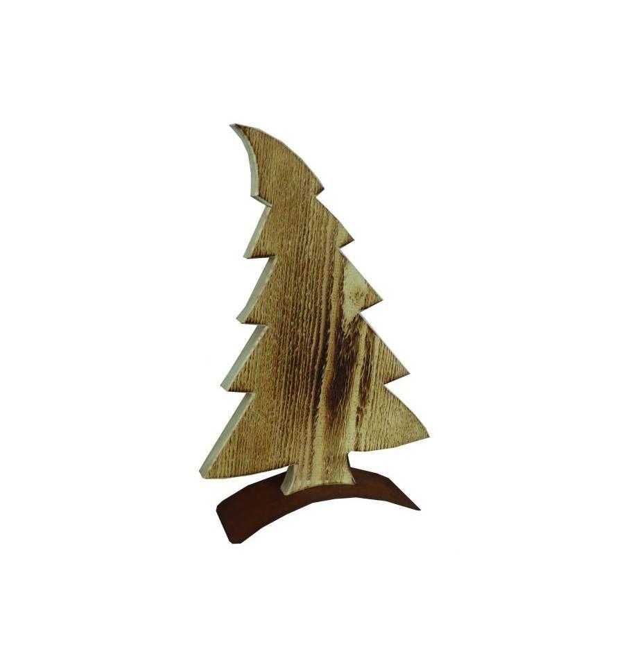 Baum im wind aus holz angeflammt for Kleine schreibtische aus holz