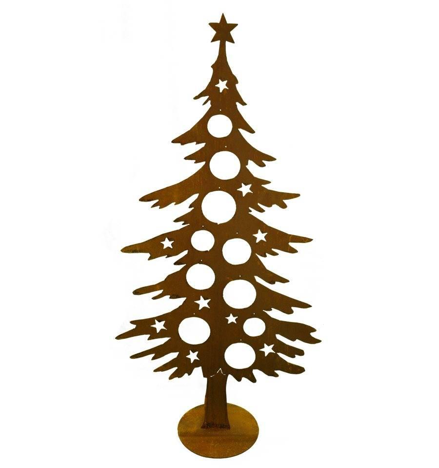 Dekotanne 150cm hoch für Christbaumkugeln vom Metallmichl ...