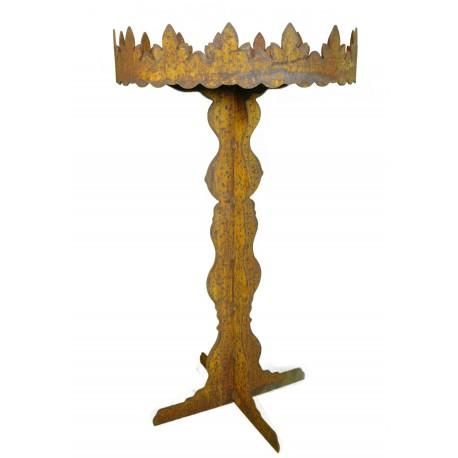 """Tisch mit verziertem Rand """"Versaille"""" 90 cm"""