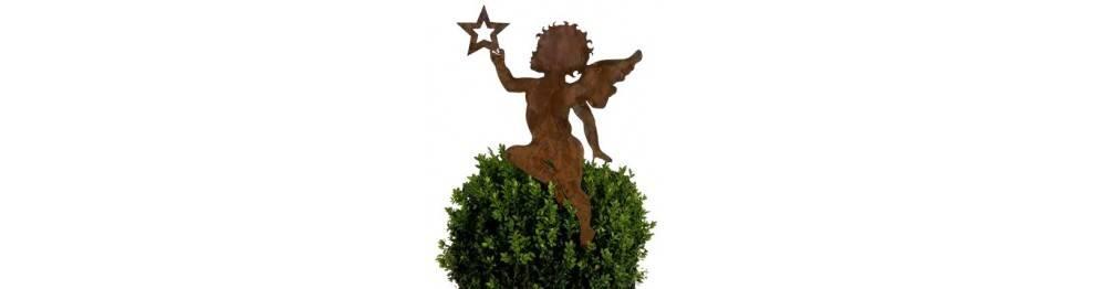 Gartenstecker Weihnachten.Gartenstecker Weihnachten Und Winter Metallmichl