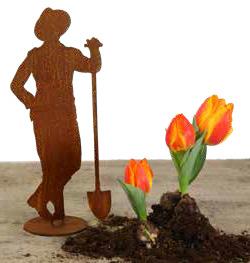 Gärtner Figur Mann