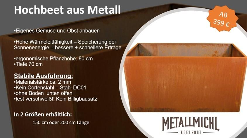 Hochbeet Metall günstig kaufen
